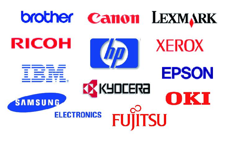 Marques: Brother- Canon - Lexmark - RICOH - IBM - HP - Epson - Kyocera - Fujitsu - OKI